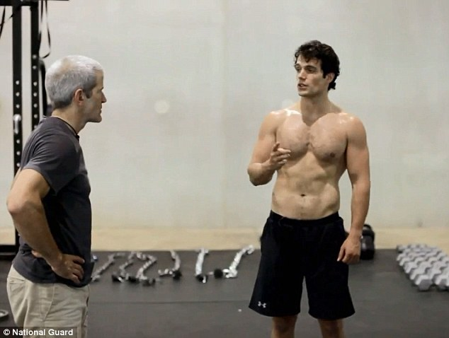 An Insight Into Henry Cavill And Antje Traue Training For Man Of Steel