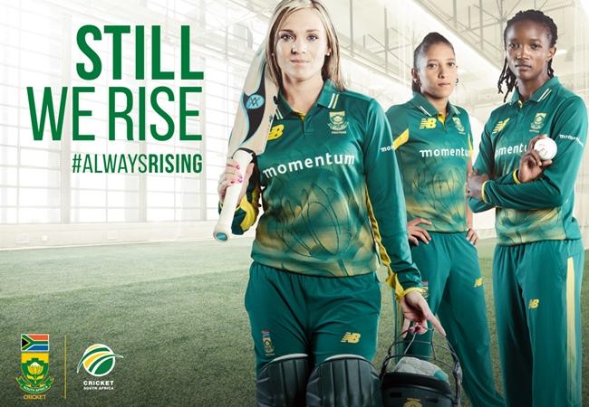 The Momentum Proteas Women's Cricket Team, #ALWAYSRISING