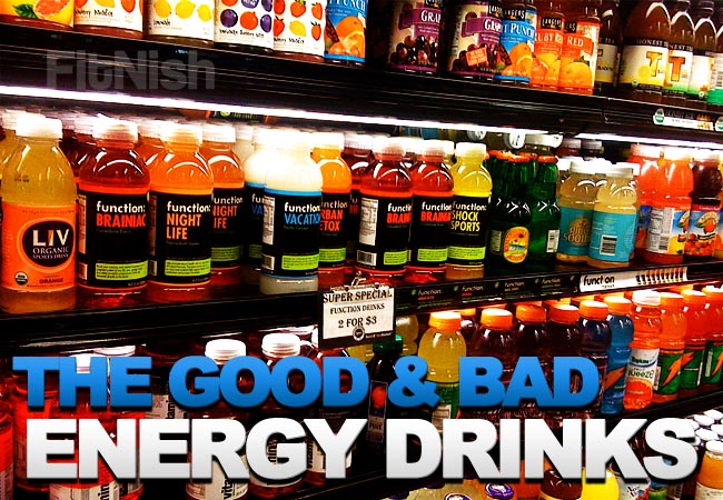 Do Sports and Energy drinks actually give you ENERGY