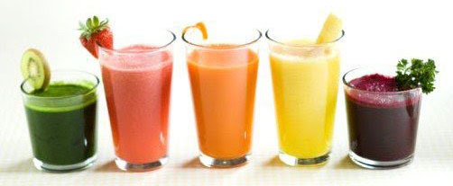 Fresh Vegetable and Fruit Juice