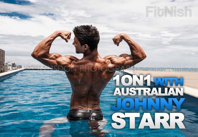 One on One With The Shredded Australian, Johnny Starr