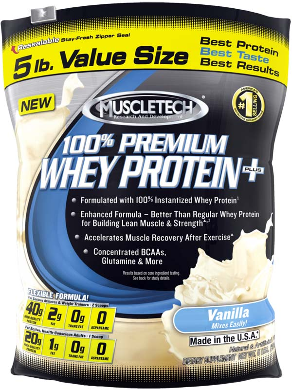 Muscletech 100 percent Premium Whey Protein Plus