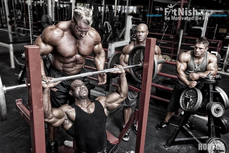 Weight Training Jay Cutler