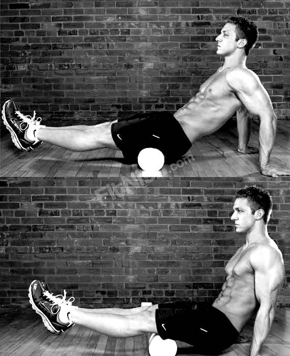Using the Foam roller for your Hamstrings