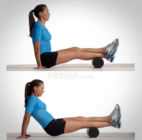 Using the Foam roller for your Calves