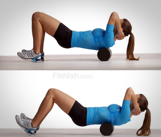 Using the Foam roller for your Back