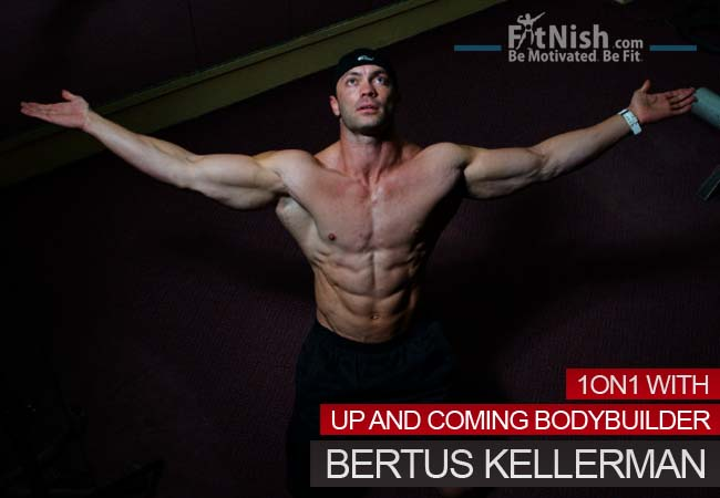 One on One With Up And Coming Bodybuilder, Bertus Kellerman