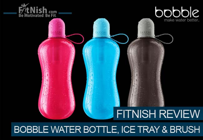 Review, The New Bobble Sport, A Self Filtered Water Bottle, Bobble Ice Tray And Bobble Brush