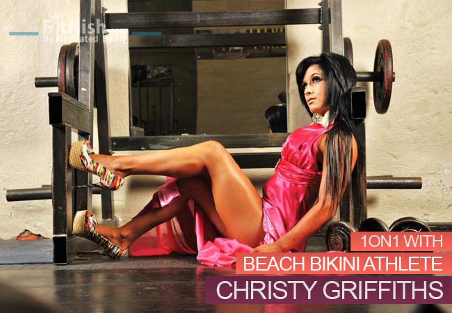 One on One With Marketing Student, Former Golfer And Beach Bikini Athlete Christy Griffiths