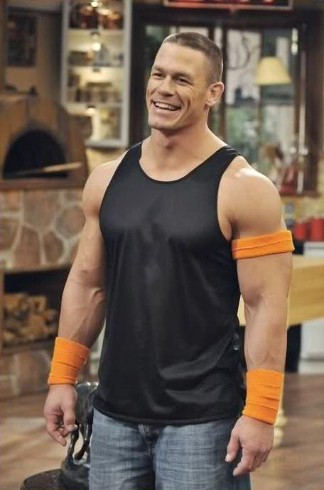 John Cena training