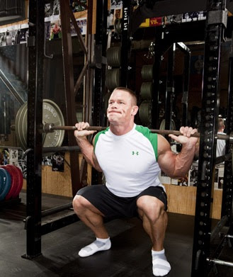 John-Cena-Workout squat