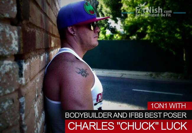 One on One With Bodybuilder And Ifbb Best Poser, Charles Chuck Luck