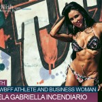 One on One With Fitness Model, WBFF Athlete And Business Woman, Manuela Gabriella Incendiario