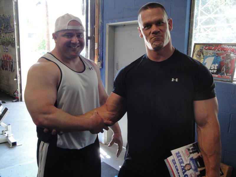 Jon Cena Mark Bell