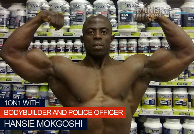 One on One With Bodybuilder And Police Officer Hansie Mokgoshi
