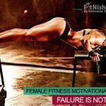 Inevitable Failure Female Fitness Motivational Video Failure Is Not Final