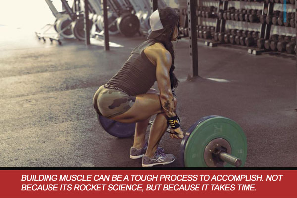 training heavy female athlete