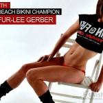 One On One With 20 Year Old Mother And Beach Bikini Champion Jennifur-Lee Gerber