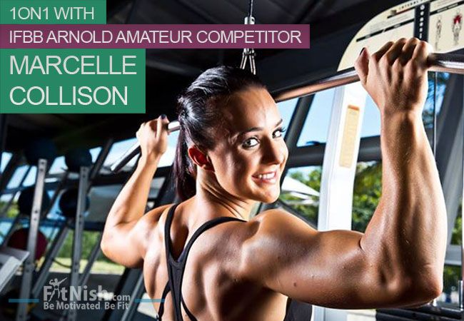 One On One With IFBB Arnold Amateur Competitor, Marcelle Collison