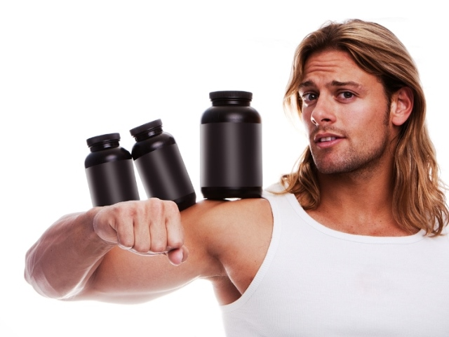 bodybuilder and supplements