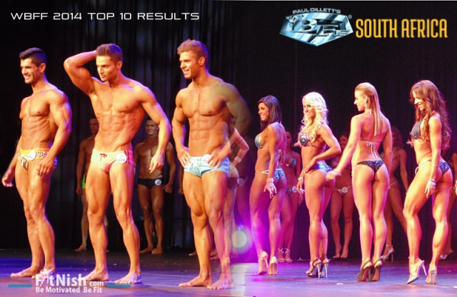 WBFF SOUTH AFRICA 2014 TOP 10 RESULTS AND PRO CARD WINNERS ...