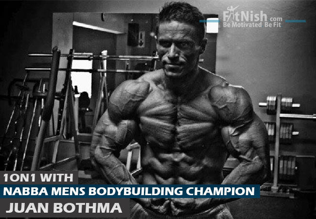One On One With Nabba Mens Bodybuilding Champion, Juan Bothma