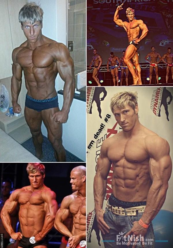 Fitnish.com Interview, New WBFF Pro Muscle Model, Jaco Moolman