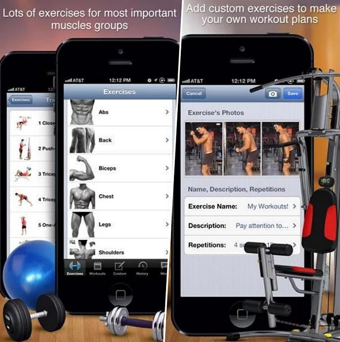 bodybuilding workouts app
