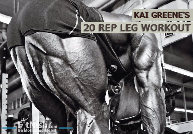 Kai Greene S 20 Rep Leg Workout Force Muscle Growth With