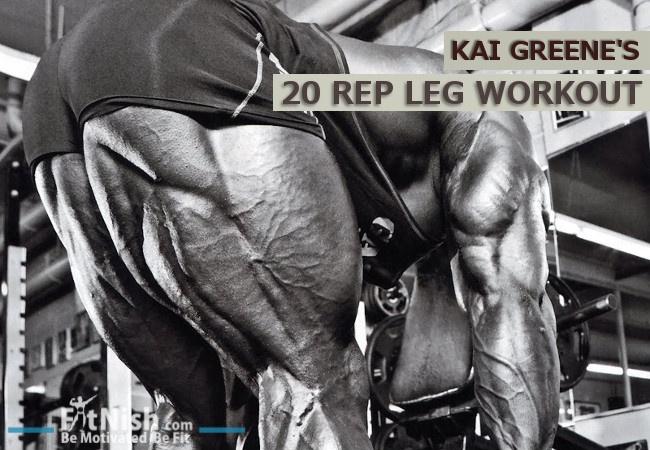kai greene 20 rep leg workout
