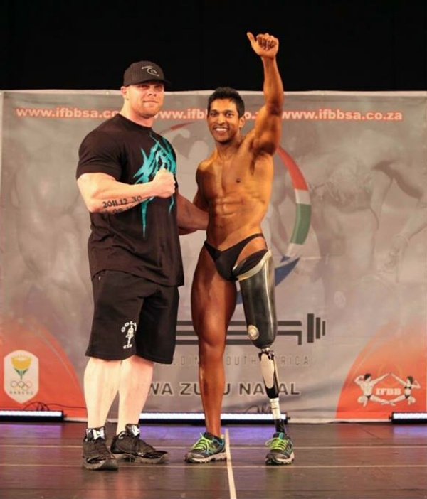 FitNish.com Interview With Fire Fighter, One Legged Natural Bodybuilder, Kiran Singh