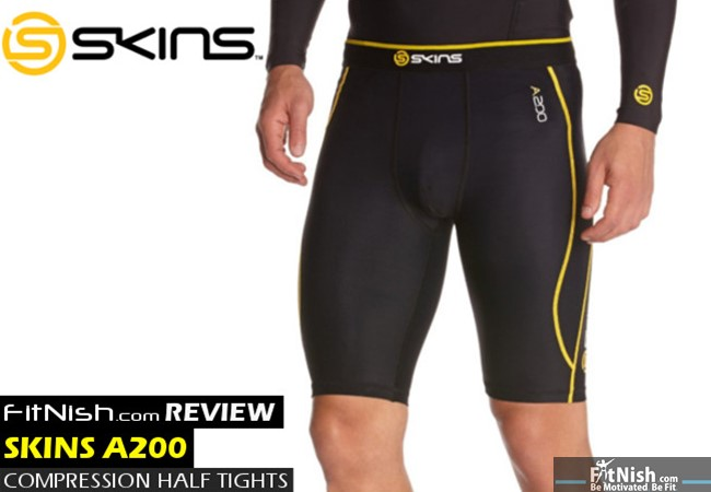 FitNish.com Review: A200 Skins Half Tights