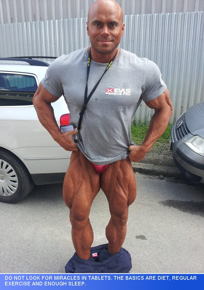 One One One With Fit And Flexible IFBB Pro Czech Bodybuilder, Lukáš Osladil