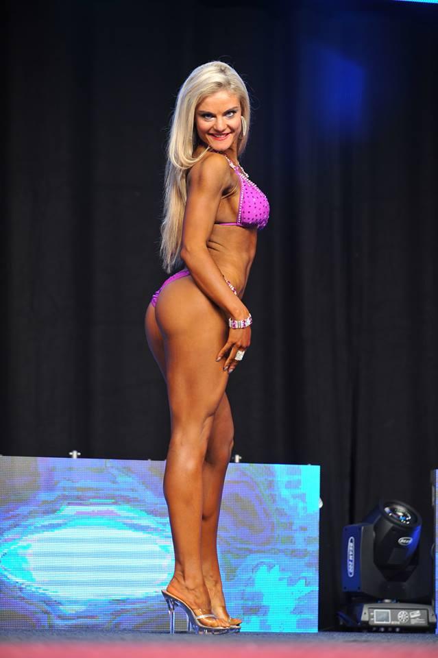 Competing In 2014 With Czech Pro Bikini Competitor, Vladimíra Krásová