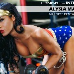 One On One With Air Force Dental Hygienist & Bikini Sport Competitor, Alysia Macedo