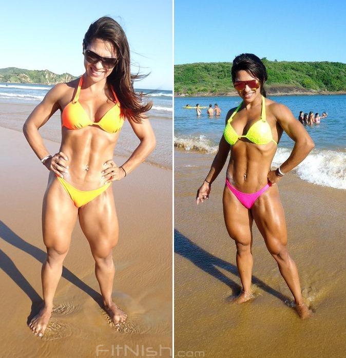 Fitnish.com Interview With IFBB Brazilian Fitness Model, Aline Barreto