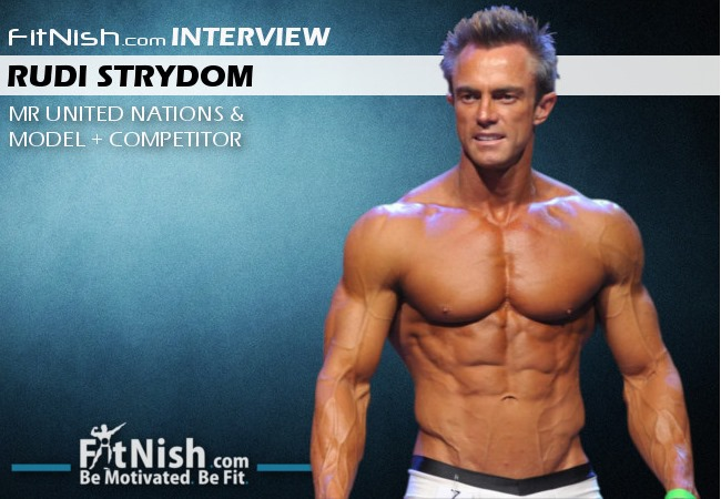 Fitnish.com Interview With Mr United Nations & Model + Competitor, Rudi Strydom