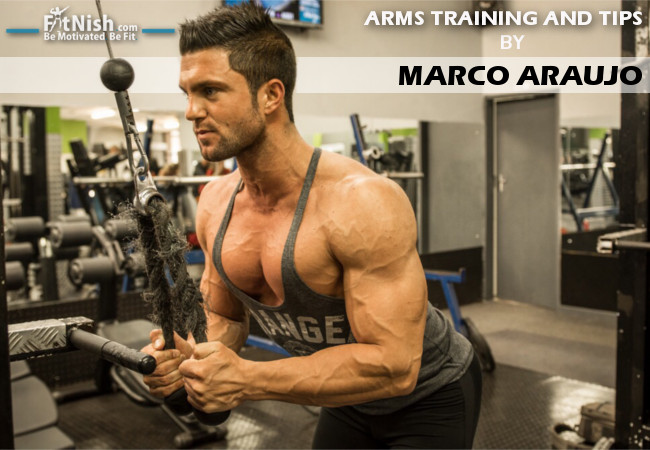 ARMS Training And Tips With WBFF Pro, Marco Araujo