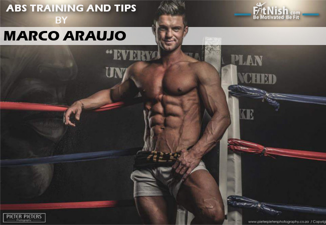 ABS Training And Tips With WBFF Pro, Marco Araujo