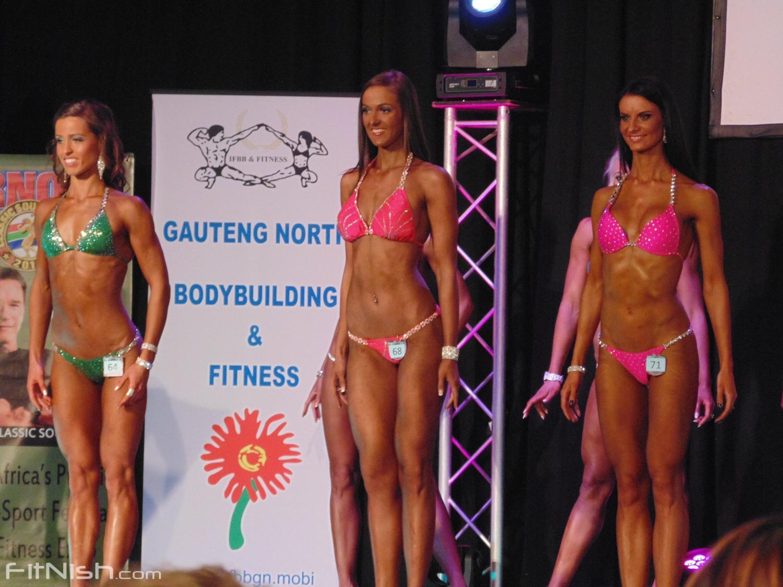 Fitness Bikini Over 168cm