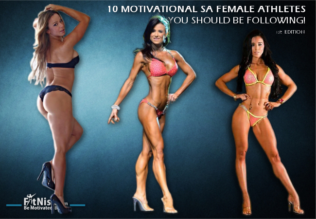10 Motivational South African Female Athletes You Should Be Following!