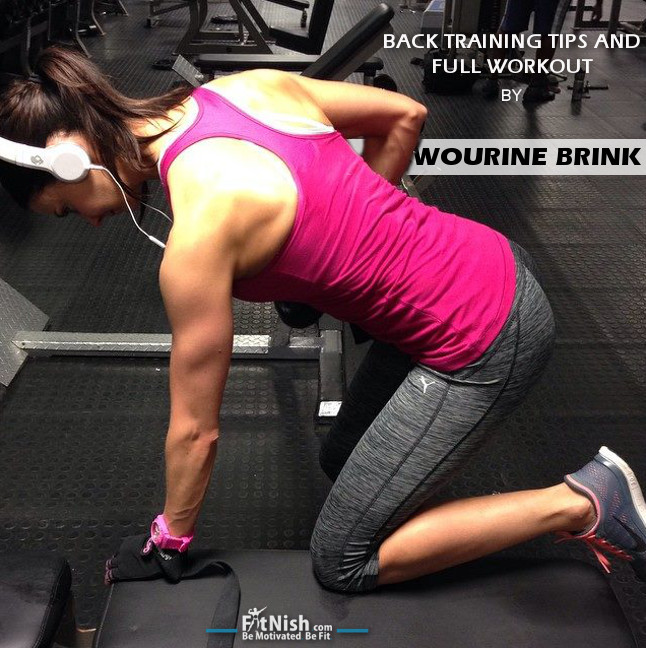 Back Training Tips And Full Workout With Wourine Brink