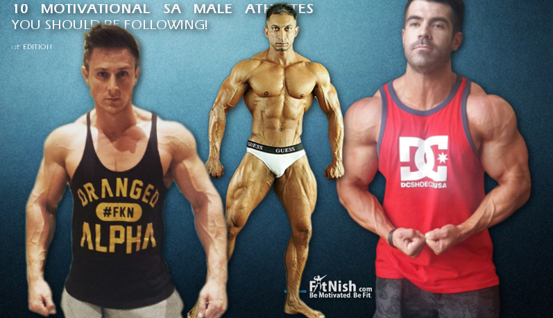 10 Motivational SA Male Athletes You Should Be Following!