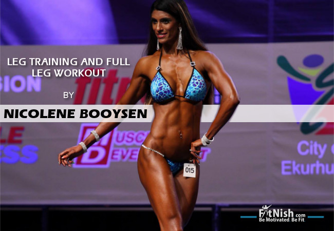 Leg Training And Full Leg Workout With Nicolene Booysen