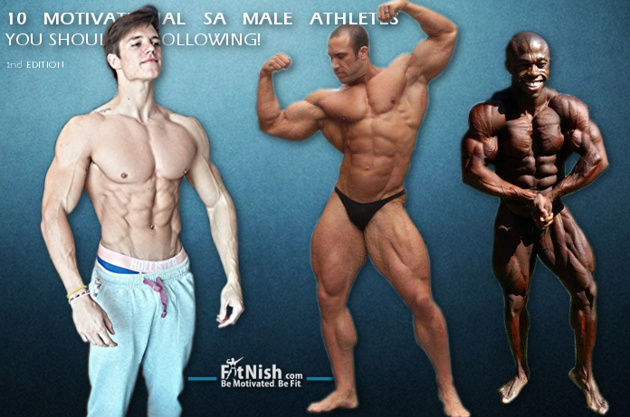 10 Motivational SA Male Athletes You Should Be Following! 2nd Edition