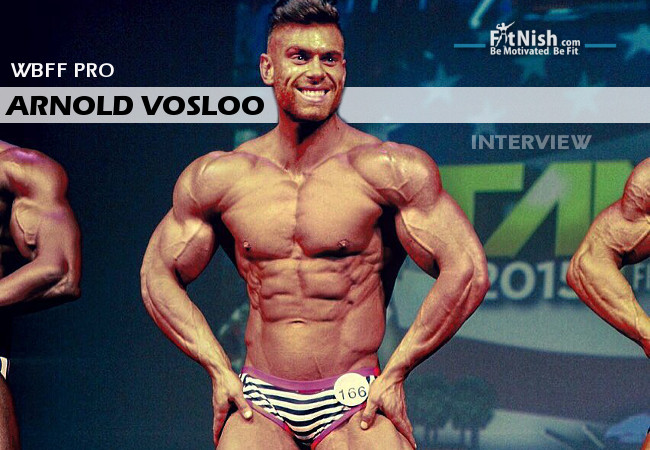 one on one with wbff pro  arnold vosloo