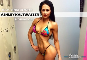3 Time Ms. Bikini Olympia, Ashley Kaltwasser Motivation