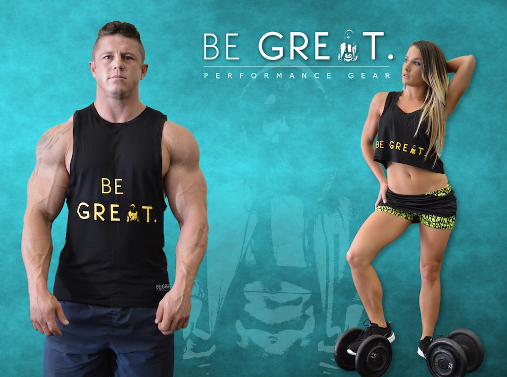 stacey Be GREAT GEAR