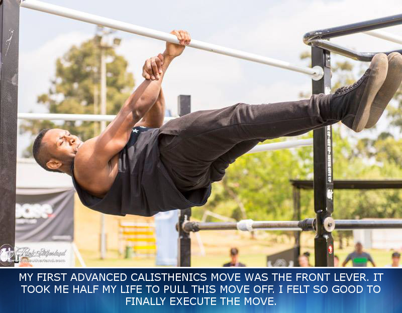 Fitnish.com interview With Gravity Core Co Founder And Calisthenics Pro, Nkululeko Makhaya