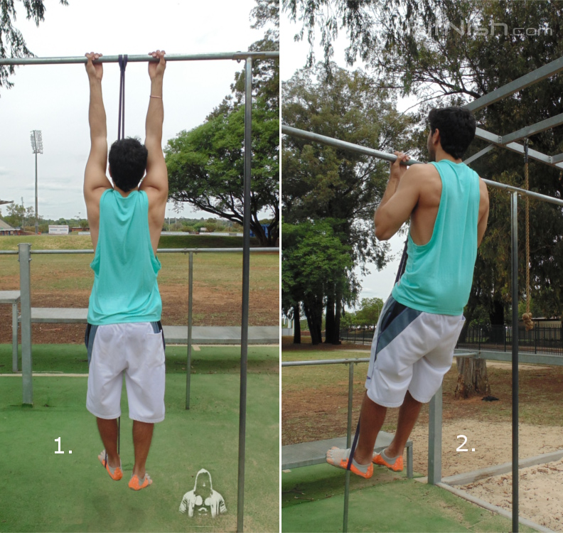 how to do band assisted pull ups